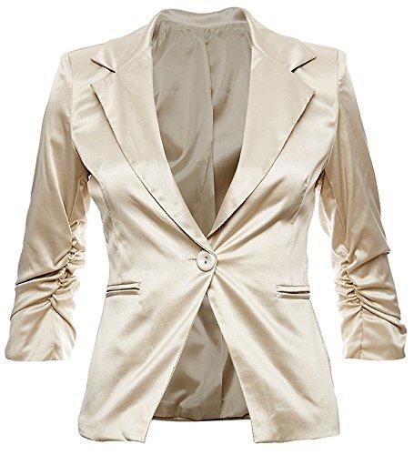 Look Moda 38 Giacca Blazer 26 Colori 36 42 Business In Donna Festa Elegante 34 Cotone Dunkelblau Alla 40 Disponibile qZ0EXdw