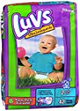 Health & Personal Care : Luvs Ultra Leakguard Diapers Size 2, 12-18 lb- 2 Packs of 40
