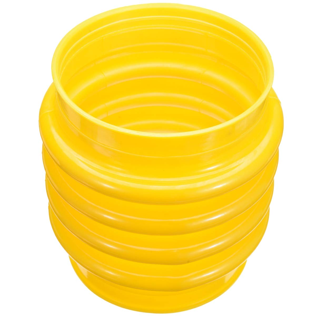 DORATA - New 17.5cm Jumping Jack Bellows Boot Yellow For Wacker Rammer Compactor Tamper Power Tools Accessories