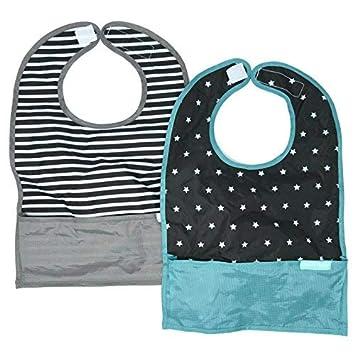 Amazon.com: bazzle bebé gobib Pack de 2, plegable bebé o ...