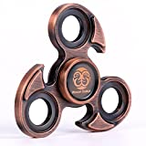 Woocon Fidget Spinner Metal, Eagle Pure Copper Hand Spinner, Exclusive Professional Bearing, Smooth and Quiet, Coolest Spiner with Luxury Giftbox