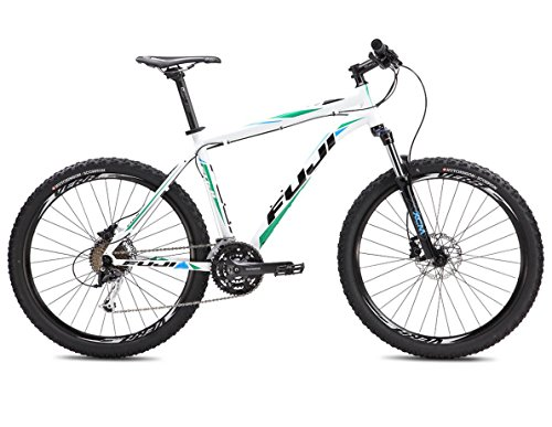 Brand New Premium Fuji Bikes Nevada 1.5 D Hardtail Mountain Bike (White) (19