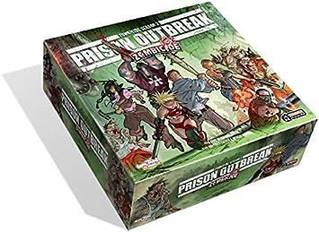 Zombicide Prison Outbreak - Juego de Mesa, de 1 a 4 Jugadores (Guillotine GUG0016) (versión en inglés): Amazon.es: Juguetes y juegos