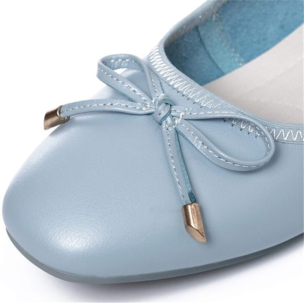 FLYRCX Scarpe Pieghevoli inserite nella Vostra Borsa da Donna Balletto  Scarpe tascabili Scarpe comode morbide Scarpe Basse da Lavoro Scarpe da  Donna ... 5b6f8eb2e47