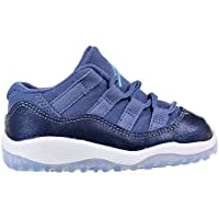 78b18215843c 645107-408 INFANTS AND TODDLER 11 RETRO LOW GT JORDAN BLUE MOON POLARIZED  BLUE