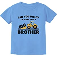 Going to Big A Brother Gift for Tractor Loving Boys Toddler Kids T-Shirt