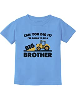 e93fb072 Going to Be Big Brother Gift for Tractor Loving Boys Toddler/Infant Kids T-
