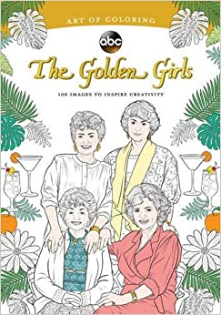 art of coloring golden girls 100 images to inspire creativity - Coloring Books For Girls
