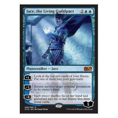 amazon com magic the gathering jace the living guildpact 062