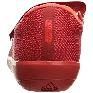 adidas Originals Adizero Shotput Track Shoe, Red/White/Infrared, 11 M US