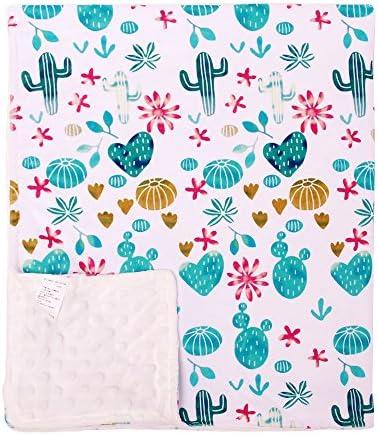 YIQIGO Watercolor Texture Succulent Blanket product image