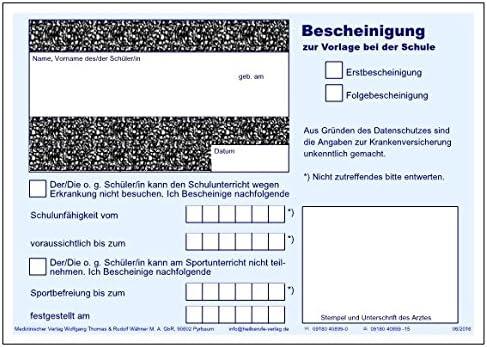 Arztliche Sportunfahigkeitsbescheinigung Von Druck Studio24 7