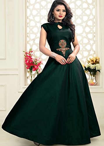 2 Da Green Partywear Ethnic Traditonal Dark Facioun Women Designer Kameez Indian Salwar PxqwgBPA