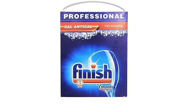Finish Sal para lavavajillas Profesional - 6000 gr: Amazon.es ...