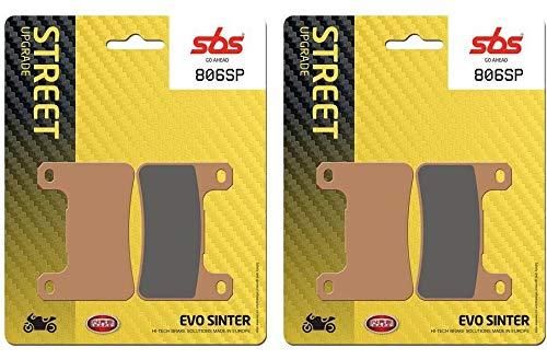 Suzuki DL 1000 V-Strom XT qualit/é OEM 806SP DL1000 V-Strom XT 17 18 19 SBS Performance Jeu de Plaquettes de Frein Avant fritt/é Evo