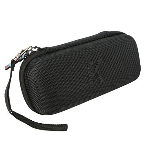 External Battery Charger Case, Khanka Hard Travel Carry Case Bag for AUKEY 20000mAh 20000 Portable External Battery Charger Power Bank. Mesh Pocket for Wall Charger and USB Car Charger