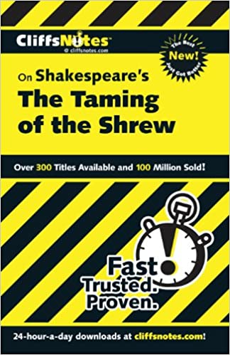 CliffsNotes on Shakespeares The Taming of the Shrew (Cliffsnotes Literature Guides)