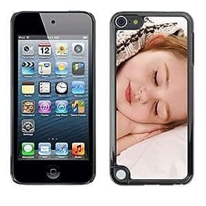 "Pulsar Snap-on Series Teléfono Carcasa Funda Case Caso para Apple iPod Touch 5 , Dormir Cansado Bebé Pequeño Cabrito Lindo"""
