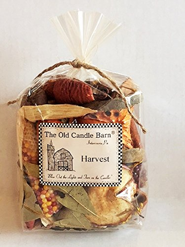 Harvest Potpourri 4 Cup Bag - Perfect Fall Decoration or Bowl Filler - Beautiful Autumn Scent