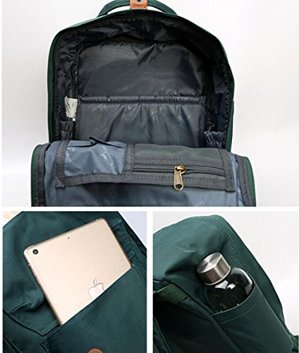 Borsa Da E Studenti Donna Da Zaino Maschi Mommy Laptop Viaggio Femmine Zaino Zaino Moda Black Per Black Casual Per 6E7Rwqq0