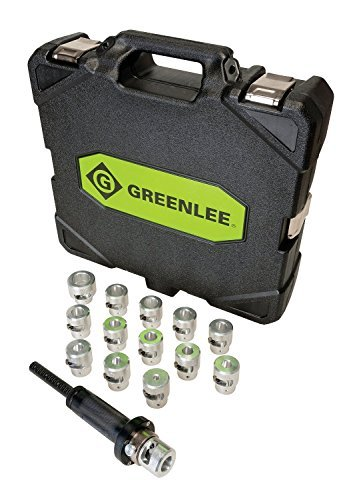 Greenlee GTS-THXH Aluminum Bushing Kit for the GTS-1930 Saber Cable Stripper