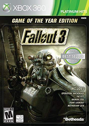 Fallout 3: Game of the Year Edition (Renewed) (Fallout 3 Xbox 360)