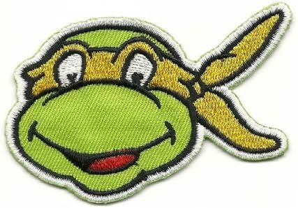 Teenage Mutant Ninja Turtles MICHELANGELO Iron On/Sew On Patch