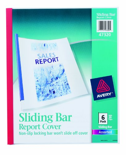 Avery Sliding Report Covers Assorted