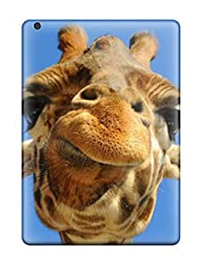 Durable Case For The Ipad Air- Eco-friendly Retail Packaging(giraffe Background )