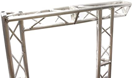 Cablematic - Truss triangular de aluminio plata 150mm tramo recto ...