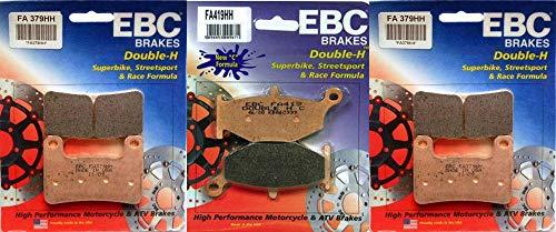 SINTERED HH CERAMIC FRONT /& REAR BRAKE PADS /> SUZUKI GSX 1300 HAYABUSA RL0 2010