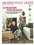 Architectural Digest Magazine November 2011 Ellen DeGeneres & Portia de Rossi: A Passion for Design