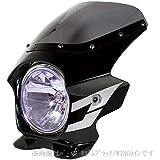 Nプロジェクト(エヌプロジェクト) ビキニカウル BLUSTERII CB400SF HYPER VTEC SpecIII/Revo スタンダードスクリーン(スモーク) グラファイトブラック 23131