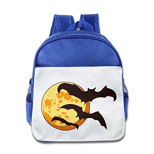 MoMo Unisex Halloween Moon Children Lunch Bag For Little Kids -