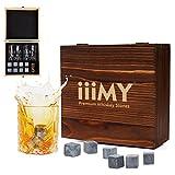 4 Pcs Ceramic Whisky Stones Ice Cube Glacier Whiskey Chilling Rocks