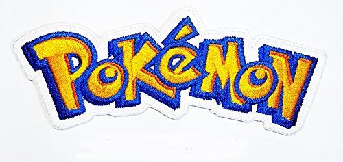 [pokemon game cartoon patch Pokemon Go Pokemon logo patch Costume Cartoon Logo DIY Embroidered Sew Iron on Patch Cap Jacket Hoodie Backpack Ideal for Gift/ 12.5cm(w)] (Diy Costumes Kids)