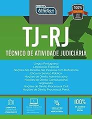 Tribunal De Justiça - Rj: Técnico De Atividade Judiciária - Edital 2020