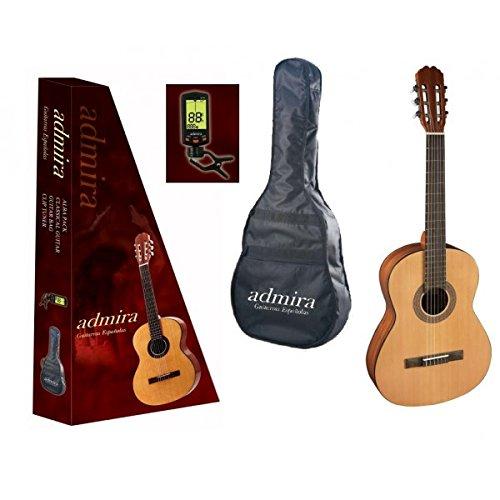 Guitarra clasica admira alba iniciacion 4 4 pack for Guitarra admira