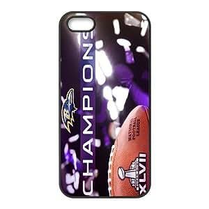Custom Baltimore Ravens NFL Back Cover Case for iPhone 6 4.7 JN5S-1192