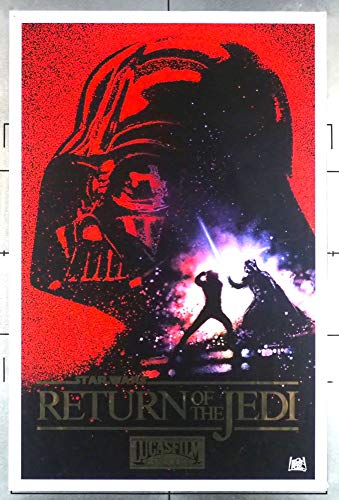 Star Wars: Episode Vi - Return Of The Jedi COMMEMORATIVE POSTER FROM KILLIAN ENTERPRISES Not a theatrical one-sheet PLEASE READ THE DESCRIPTION. Art by DREW STRUZAN