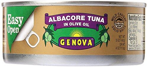 Genova Albacore Tuna In Pure Olive Oil, 5 oz (Tuna Genova)