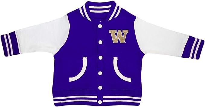Creative Knitwear University of Washington Huskies Varsity Jacket