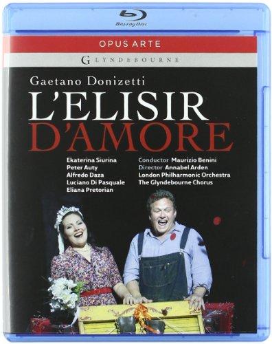 - L'Elisir D'Amore: Glyndebourne 2009 [Blu-Ray]