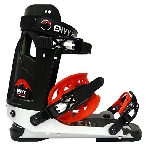 Envy Ski Boot Frame - Comfortable Ski Boots (Black, Medium)