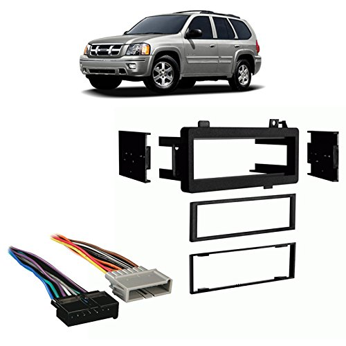 Fits Jeep Cherokee 1997-2001 Single DIN Stereo Harness Radio Install Dash Kit - Jeep Cherokee Single