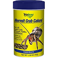 TetraFauna Hermit Crab Meal For All Land Crabs, 1.58-Ounce