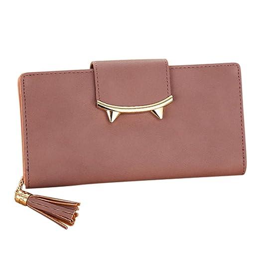 ef02b0b869 ShiningLove Cute Designer Long Cat Ears Lady Teens Girls Wallet PU Leather  Purse Tassel Coin Card