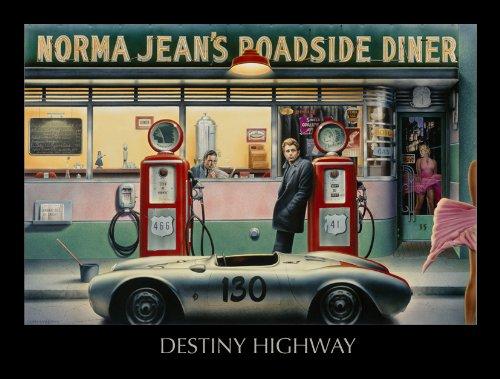 - Chris Consani - Destiny Highway 14 x 11 NO LONGER IN PRINT - LAST ONES!!