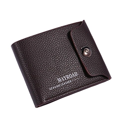(MYEDO Women Synthetic Leather Wallet Magnetic ID Credit Card Holder Money Clip Women's)