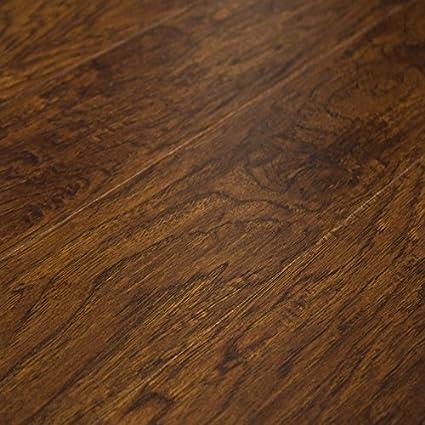 Timeless Designs Dreamland Smoked Hickory 12mm Laminate Flooring